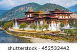 the punakha dzong monastery in... | Shutterstock . vector #452532442