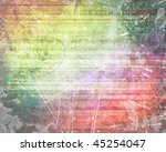 old rainbow background with... | Shutterstock . vector #45254047