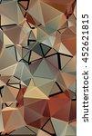 randomly scattered triangles of ... | Shutterstock .eps vector #452621815