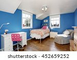 Adorable Blue Kids Room With...
