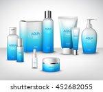 aqua pure natural treatment... | Shutterstock .eps vector #452682055