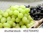 closeup of a bunch of grapes... | Shutterstock . vector #452704492