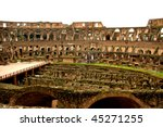 inside of the coloseum in rome  ...   Shutterstock . vector #45271255