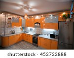 comfortable apartment in the... | Shutterstock . vector #452722888