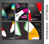 set of covers for your design.... | Shutterstock .eps vector #452738266