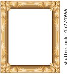 golden painting or picture... | Shutterstock . vector #45274966