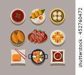 korean food illustration | Shutterstock . vector #452760472