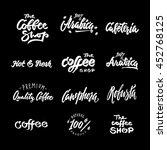 symbol  set of labels. logos... | Shutterstock .eps vector #452768125