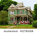 Victorian Ornate Home With...
