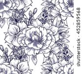 abstract elegance seamless... | Shutterstock . vector #452859568