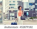 travel  business trip  people... | Shutterstock . vector #452879182