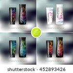 vector body care cosmetics... | Shutterstock .eps vector #452893426