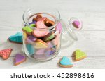 colorful cookies in the shape... | Shutterstock . vector #452898616