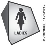 modern toilet set icon with... | Shutterstock .eps vector #452934952