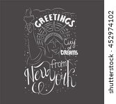conceptual handwritten... | Shutterstock .eps vector #452974102