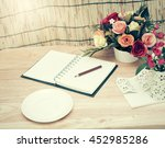 retro vintage  process.business ... | Shutterstock . vector #452985286