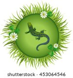 Insects And Summer Nature Icon...