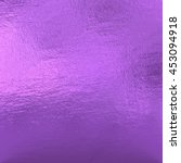purple metallic foil  | Shutterstock . vector #453094918