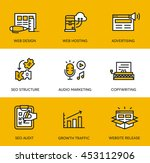 web icons | Shutterstock .eps vector #453112906