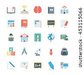 education vector icons 1 | Shutterstock .eps vector #453115066