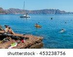 Santorini  Greece   April 28 ...