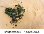 Abstract Seaweed Heart On A...