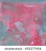 abstract painted background in... | Shutterstock . vector #453277456