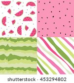 seamless pattern with... | Shutterstock .eps vector #453294802
