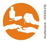 nail polish vector icon ... | Shutterstock .eps vector #453331156