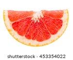 perfect fresh grapefruit... | Shutterstock . vector #453354022