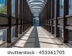 abstract hallway interior of... | Shutterstock . vector #453361705