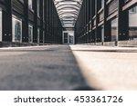 abstract hallway interior of... | Shutterstock . vector #453361726