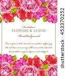 vintage delicate invitation... | Shutterstock .eps vector #453370252