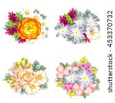 flower set | Shutterstock . vector #453370732