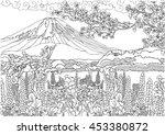 Mountain In Japan . Fujiyama ...