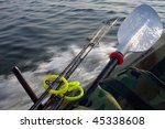 small fishing boat with fishing ... | Shutterstock . vector #45338608