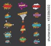 comic speech   Shutterstock .eps vector #453386332