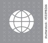 the globe icon.    Shutterstock .eps vector #453398266