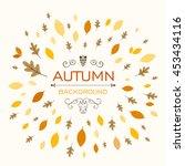 Vector Illustration Of A Fall...