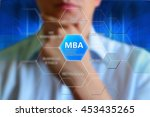 "mba concept. label ""mba  ... 