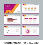 page layout design template for ...   Shutterstock .eps vector #453462682