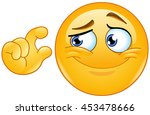 it is too small. emoticon... | Shutterstock .eps vector #453478666