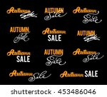 """autumn sale"" calligraphic... 