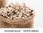 job's tears  millet grains in... | Shutterstock . vector #453516862