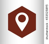 map location pin icon