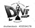 every day is a new impression.... | Shutterstock .eps vector #453534178