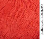 Artificial Red Fur Cloth...