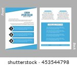 creative vector flyer for... | Shutterstock .eps vector #453544798
