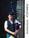 edinburgh  scotland   may 29 ... | Shutterstock . vector #453548842