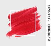 art abstract background brush...   Shutterstock .eps vector #453570268